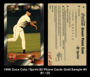 1996-Coca-Cola-Sprint-2-Phone-Cards-Gold-Sample-4