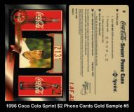 1996-Coca-Cola-Sprint-2-Phone-Cards-Gold-Sample-5