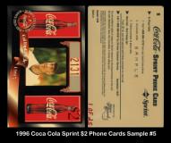 1996-Coca-Cola-Sprint-2-Phone-Cards-Sample-5