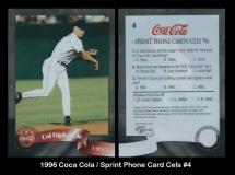 1996 Coca Cola Sprint Phone Card Cels #4