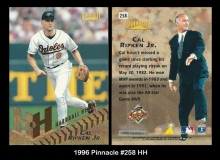 1996 Pinnacle #258 HH