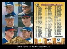 1996 Pinnacle #399 Superstar CL