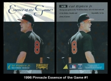1996 Pinnacle Essence of the Game #1