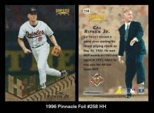 1996 Pinnacle Foil #258 HH