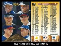 1996 Pinnacle Foil #399 Superstar CL