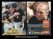 1996 Pinnacle Starburst #114
