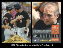 1996 Pinnacle Starburst Artists Proofs #114