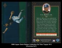 1996 Upper Deck Ripken Collection 5x7 Box Topper #13