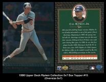 1996 Upper Deck Ripken Collection 5x7 Box Topper #15