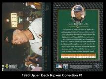 1996 Upper Deck Ripken Collection #1