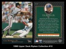 1996 Upper Deck Ripken Collection #10