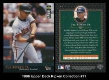 1996 Upper Deck Ripken Collection #11