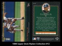 1996 Upper Deck Ripken Collection #12