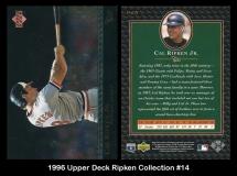 1996 Upper Deck Ripken Collection #14