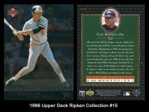 1996 Upper Deck Ripken Collection #15