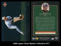 1996 Upper Deck Ripken Collection #17