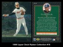 1996 Upper Deck Ripken Collection #18