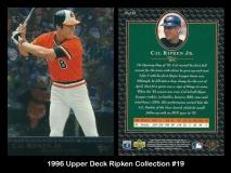 1996 Upper Deck Ripken Collection #19