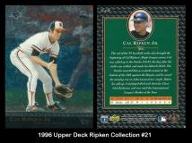 1996 Upper Deck Ripken Collection #21