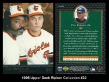 1996 Upper Deck Ripken Collection #22