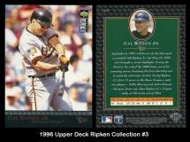 1996 Upper Deck Ripken Collection #3