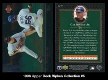 1996 Upper Deck Ripken Collection #6