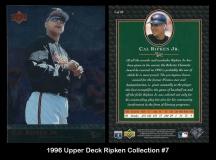 1996 Upper Deck Ripken Collection #7