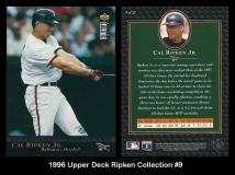 1996 Upper Deck Ripken Collection #9