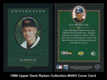 1996 Upper Deck Ripken Collection #NNO Cover Card