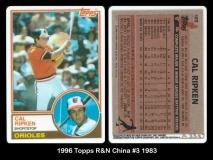 1996 Topps R&N China #3 1983
