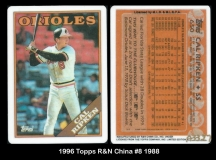 1996 Topps R&N China #8 1988