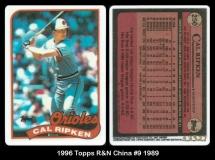 1996 Topps R&N China #9 1989