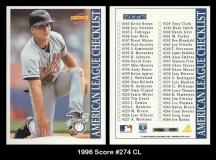 1996 Score #274 CL