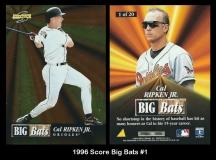 1996 Score Big Bats #1