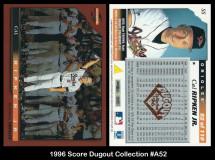 1996-Score-Dugout-Club-A52