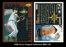 1996 Score Dugout Collection #B81 SS