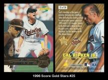1996 Score Gold Stars #25