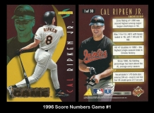 1996 Score Numbers Game #1