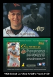 1996 Select Certified Artists Proofs #139