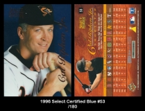 1996 Select Certified Blue #53
