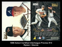 1996 Select Certified Interleague Preview #14