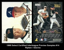 1996 Select Certified Interleague Preview Samples #14