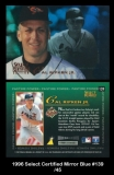1996 Select Certified Mirror Blue #139