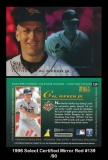1996 Select Certified Mirror Red #139