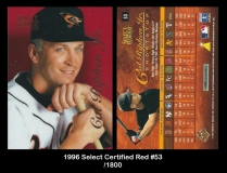1996 Select Certified Red #53