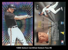 1996 Select Certified Select Few #5