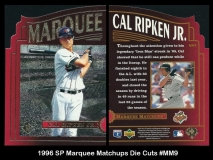 1996 SP Marquee Matchups Die Cuts #MM9