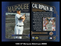 1996 SP Marquee Matchups #MM9