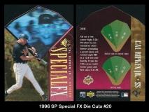 1996 SP Special FX Die Cuts #20