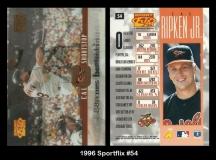 1996 Sportflix #54